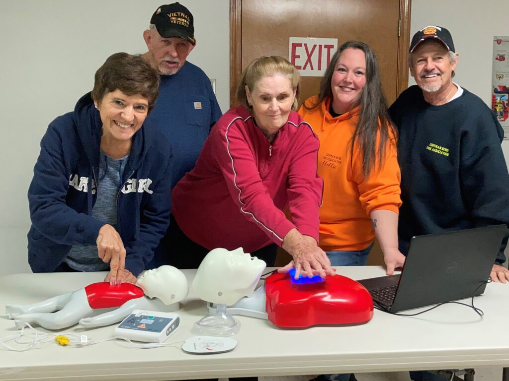 Oct 2020 CPR Class at Fire Station #1